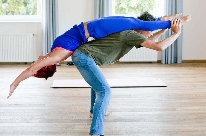 Acro Yoga (c)wildbild